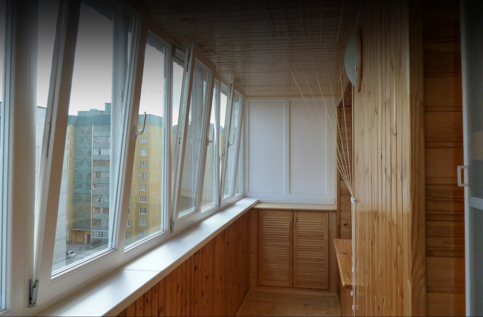 Отделка лоджии под ключ / отделка и остекление балконов в ту.