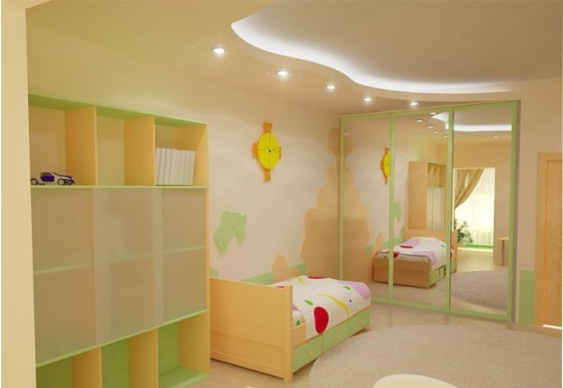 Недорогой дизайн детской комнаты фото 21
