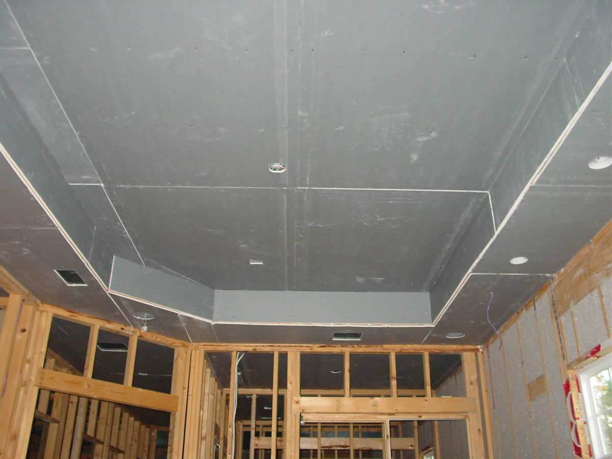 Подвесной потолок из гипсокартона монтаж своими руками